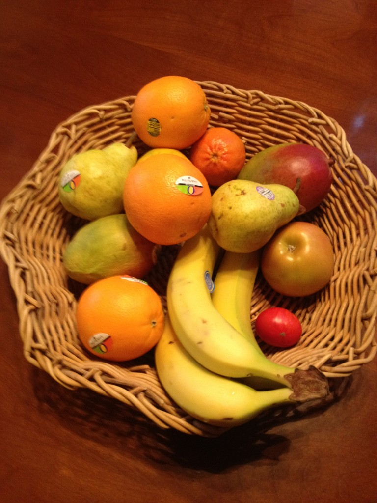 Organic fruit for healthy living