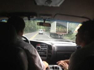 Crazy drivers in Costa Rica