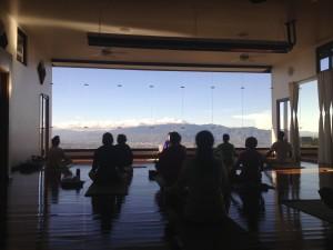 Morning yoga Pura Vida Spa Costa Rica