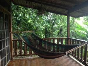 Hammock at Samasati Suite