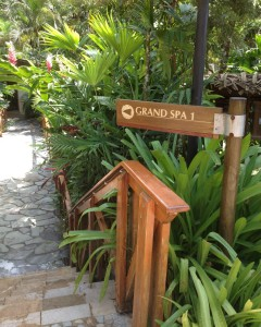 Grand Spa at Tabacon Thermal Resort at Arenal Volcano in Costa Rica