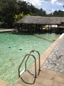 Pool bar at Tabacon Grand Spa Thermal Resort