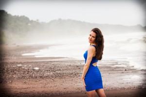 Erika Awakening on the beach