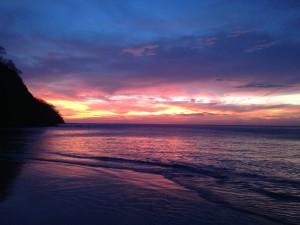 sunset Four Seasons Costa Rica Papagayo