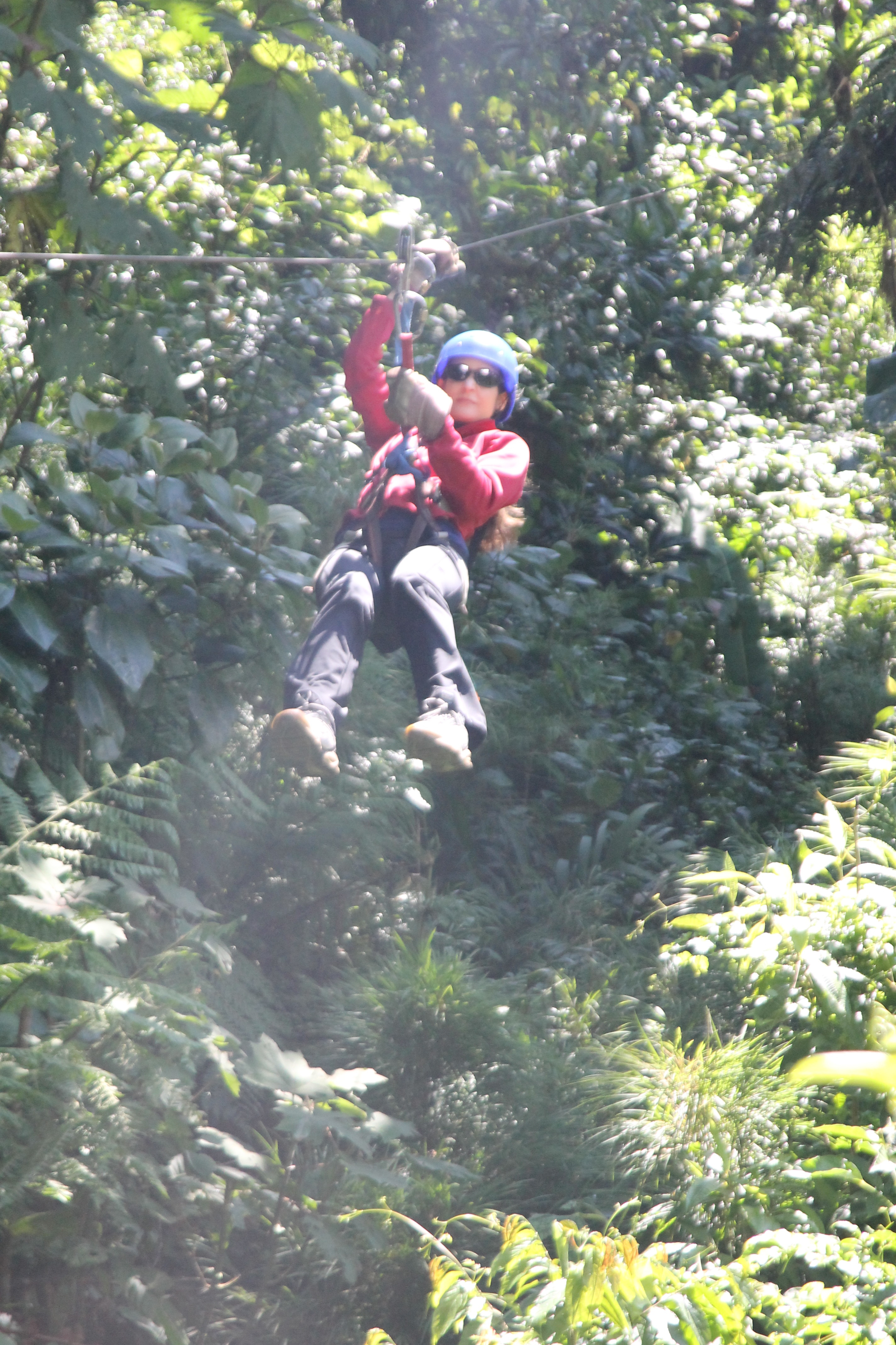 When Fear Becomes Excitement: Ziplining in Costa Rica at Selvatura in Monteverde