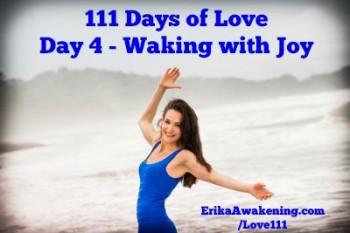 today I wake with joy