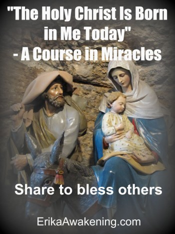 a course in miracles nativity christmas